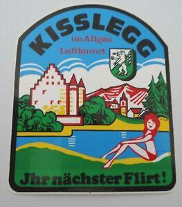 Cekade-Aufkleber Kisslegg Allgäu New Castle Zeller Lake Ravensburg M967
