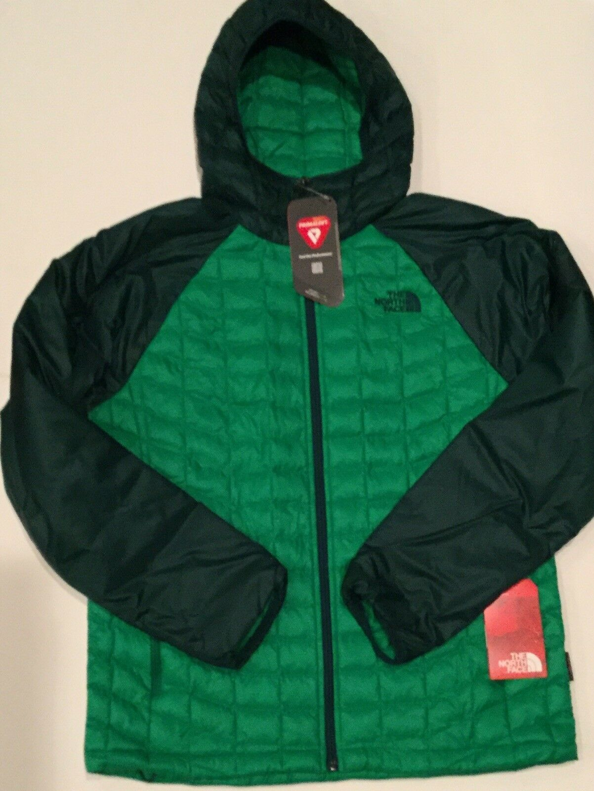 North Face Men's M Thermoball Sport Hoody Botanical Garden  Green & Primary Green  save up to 50%