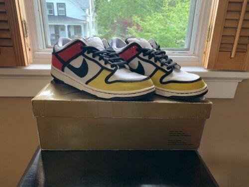 Nike Dunk Low SB Piet Mondrian Size 11
