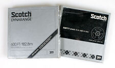 SCOTCH DYNARANGE RECORDING TAPE, 600FT SET OF 2 NEVER OPENED