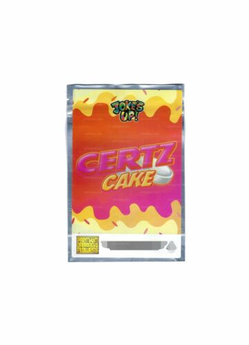 Certz Cake Bag Size 7g P.C.F Sticker Bag