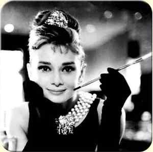 Audrey-Hepburn-Sughero-Retro-Bevande-Tappetino-Sottobicchiere-Na