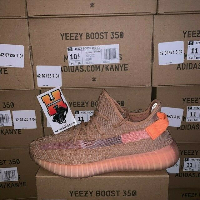 9d1282f0c Adidas Yeezy 350 V2 Clay EG7490 New In Box Size 7.5-12.5 Boost ...