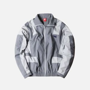 Kith x Nike Take Flight Windbreaker Jacket   Pants set Grey Medium M ... f33f052b4