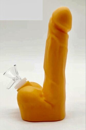 New Large Flesh  Penis design silicone Pipe Tobacco Pipe Dick Pipe