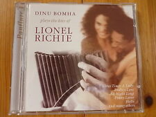 Dinu Bomha Plays the Hits of Lionel Richie Neu
