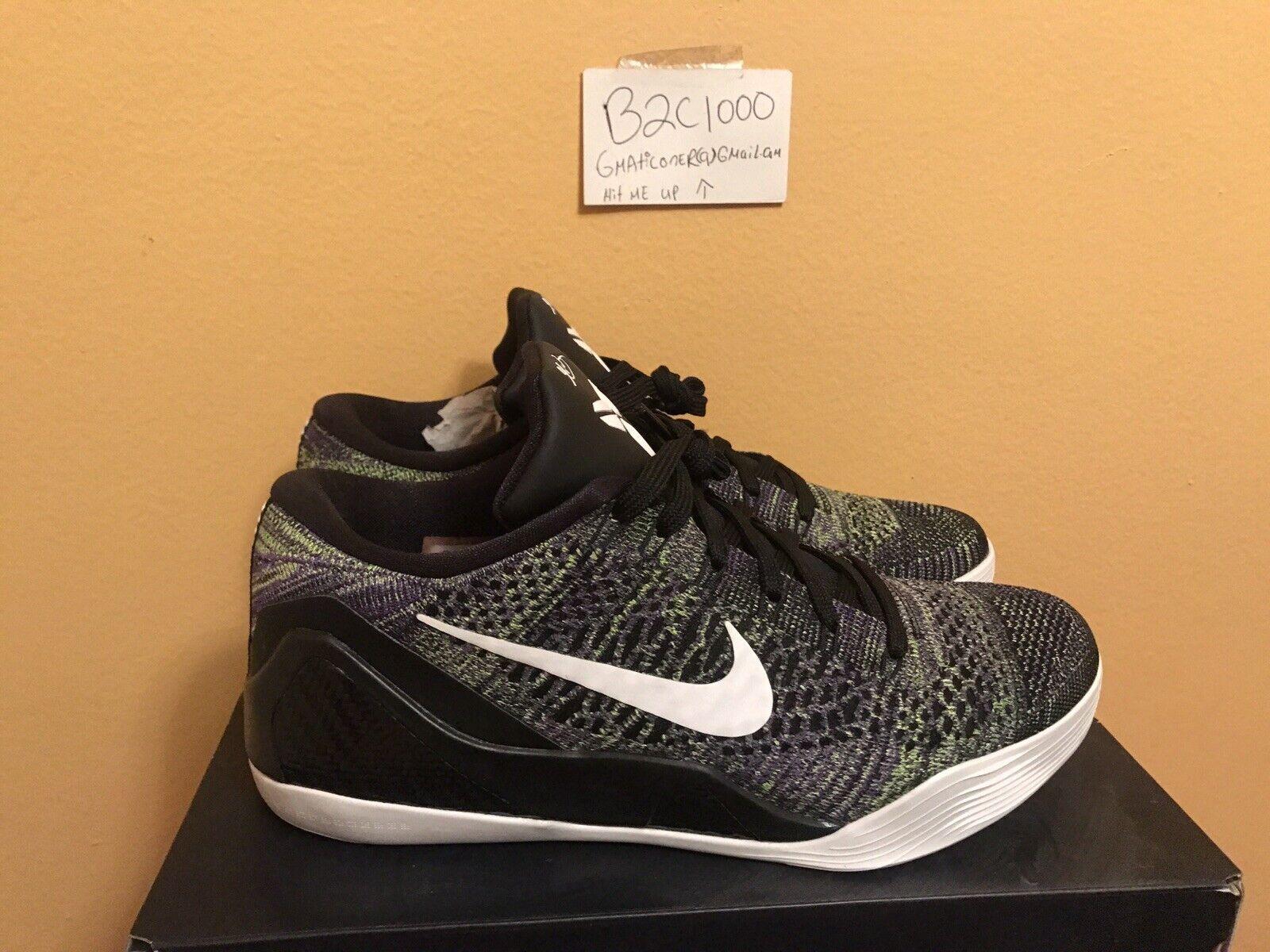 Nike Kobe Elite 9 Low Id