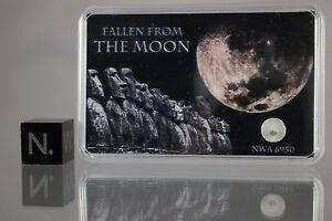 Moon rock NWA 6950 lunar meteorite - GENUINE STONE from the MOON - Own the Moon! qLGJvbUi-09152826-722522466