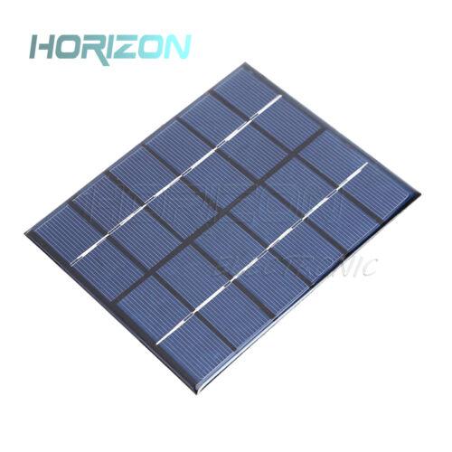 5 V 6 V 12 V 0.15W-2W polycristallin Epoxy Panneau Solaire Photovoltaique Chargeur