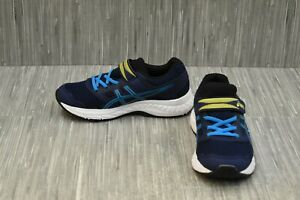 ASICS-Gel-Contend-5-PS-1014A048-Athletic-Shoe-Little-Boy-039-s-Size-2-Blue