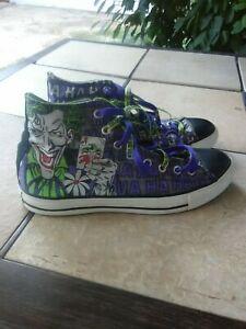 Details about Converse X DC Comics Joker Batman Chuck Taylor All Star High Top men Shoes sz10