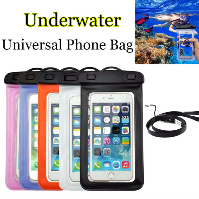 Universal Waterproof Phone Case Underwater Pouch Dry Bag for iPhone / Galaxy