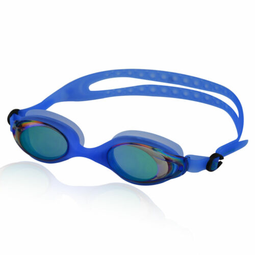 Carry Case Pouch 100/% UV Protection Swimming Goggles Water Sport Glasses Incl