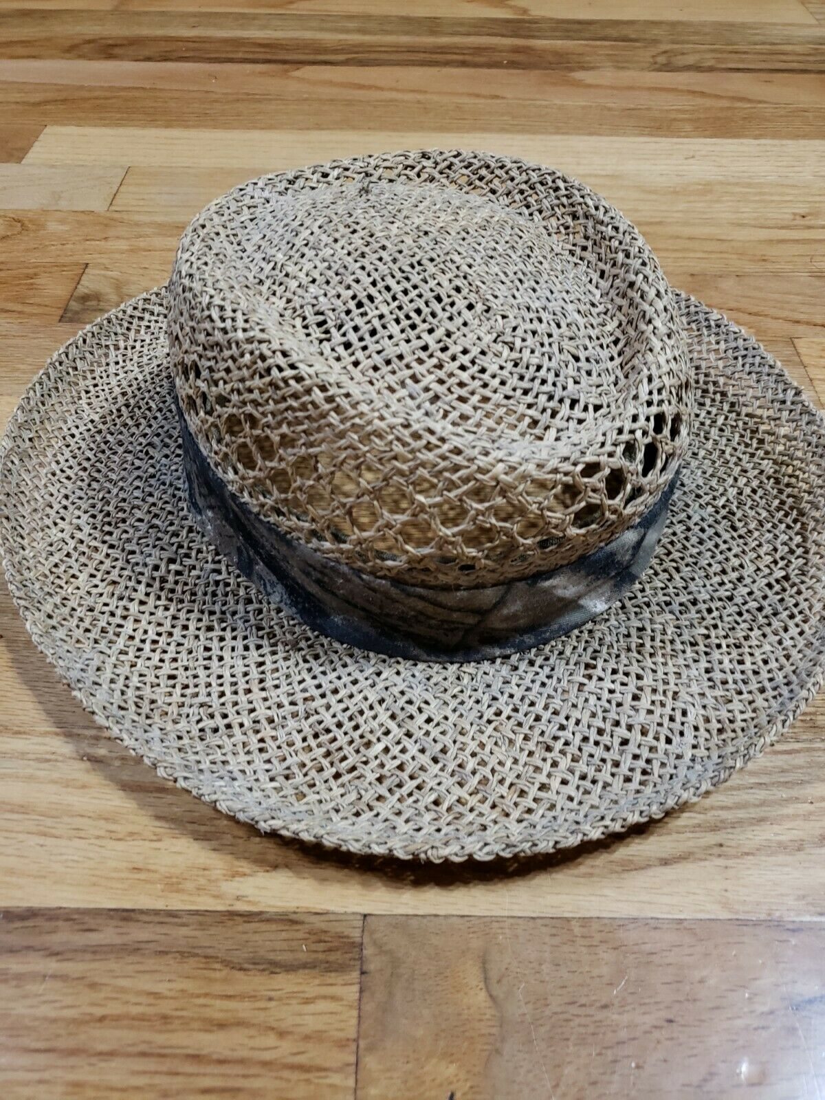 Authentic RedHead Straw Hat Cap 100% Straw One Si… - image 2