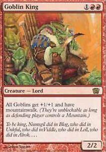 MRM-ENGLISH-Roi-des-gobelins-Goblin-King-MTG-8-9th-edition