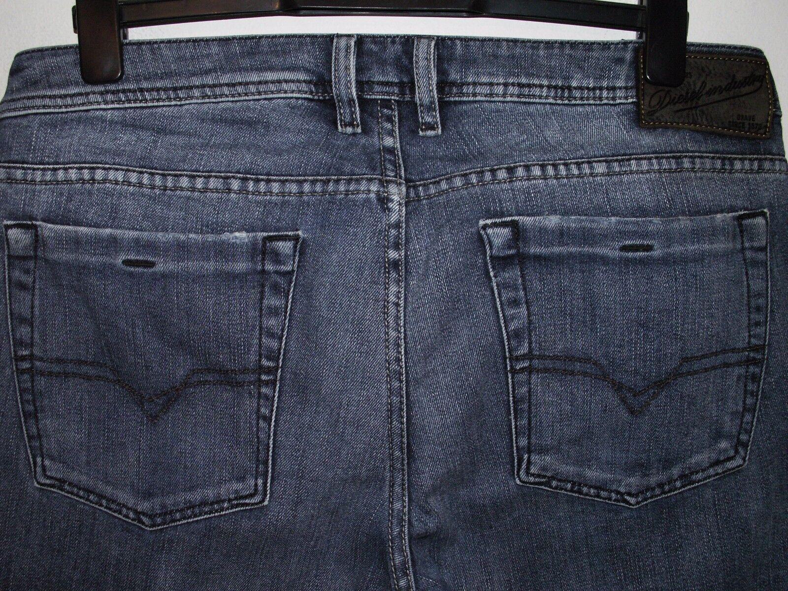 Diesel zathan bootcut jeans wash 0072J W34 L32 (a2576)