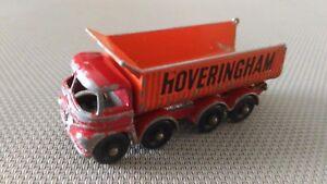 Camion Miniature Matchbox « N°17 Hoveringham Tipper» En Etat.