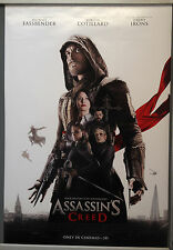 Cinema Poster: ASSASSIN'S CREED 2017 (Main One Sheet) Michael Fassbender