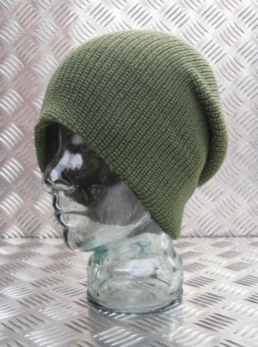Taglia Unica Verde Militare Cappellino in Lana//Berretto//Cappello di Lana