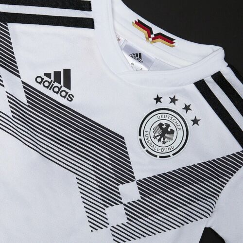 adidas Germany 2018-2019 Home Mini Kit White BR7836 Jersey Shorts Socks NEW
