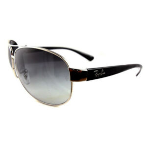 Ray-Ban-Sunglasses-3386-003-8G-Silver-Grey-Gradient-Small-63mm
