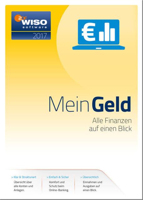 Download-Version WISO Mein Geld 2017 - NEU - unbeschränkt lauffähig