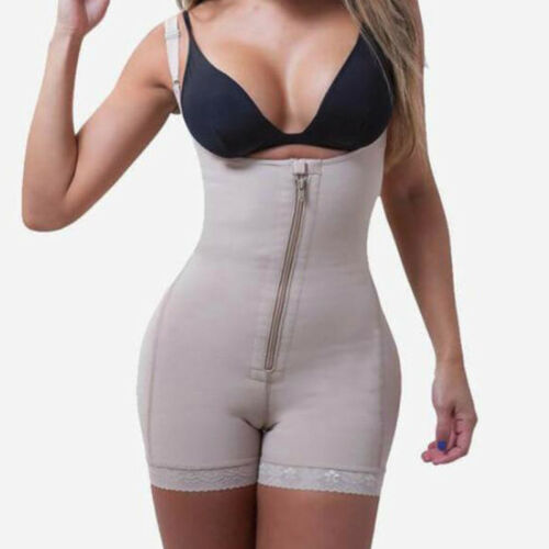 Fajas Colombianas Reductoras Levanta Cola Post Surgery Girdle Slim Body Shaper