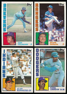 1982 Topps You Pick Complete Your Set #1-200 A09