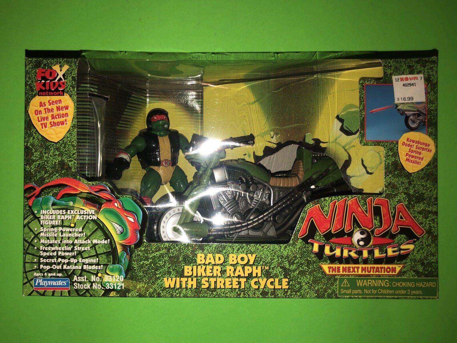 ahorra hasta un 30-50% de descuento Teenage Mutant Ninja Turtles TEENAGE MUTANT NINJA TURTLES mutación Bad Bad Bad Boy Biker Raph siguiente ciclo de calle   ahorrar en el despacho