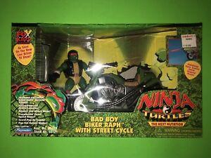 Teenage Mutant Ninja Turtles Tmnt Prochaine Mutation Bad Boy Biker Raph Street Cycle!