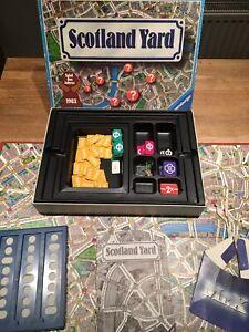Scotland Yard Ravensburger Vintage Retro Board Game 1983
