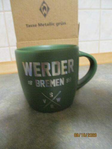 """SV Werder Bremen Tasse Metallic /""""Grün/"""""""