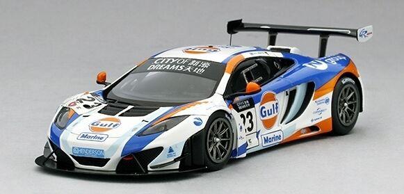 McLaren 12c Gt3 Gulf United Autosport nd Place Macau Gp 2013 1 43 Model