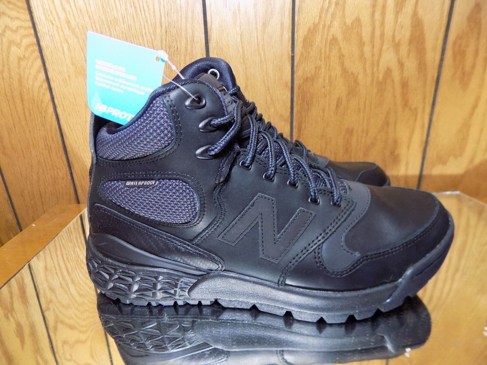 New Balance Men's FRESH FOAM PARADOX LEATHER Shoes Black HFLPXBL s 8