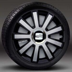 "4x16"" wheel trims, Hub Caps, Covers to fit Seat ALHAMBRA,LEON,TOLEDO"