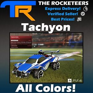 PS4-PSN-Rocket-League-Every-painted-Tachyon-Import-Boost-Crimson-White-etc