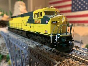 HO-Scale-Athearn-Roundhouse-Train-Union-Pacific-Dash-9-44CW-9668-DCC-Kadee-NEW
