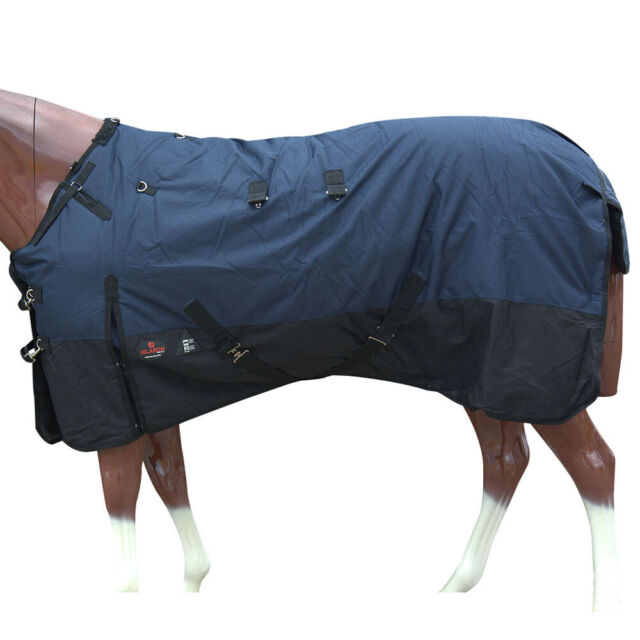 C-G-78 78 in Hilason 1200D 400Gsm Winter Horse Blanket W// Neck Cover Belly Wrap