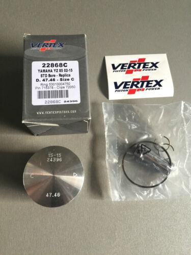 Vertex Piston Kit Standard Bore 47.46mm  22868C YAMAHA YZ85 2002-2016