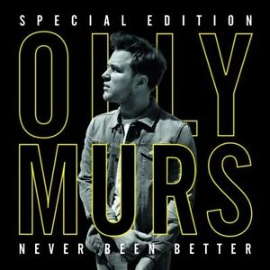 OLLY-MURS-Never-Been-Better-Special-Edition-CD-DVD-BRAND-NEW-NTSC-Region-0