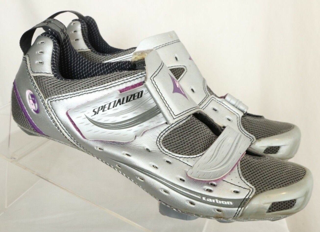 Specialized 6107-3142 Trivent Triathlon  170 Cycling Sneakers Women's US 10.5