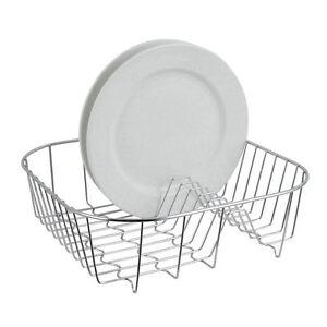 Premier-Housewares-Dish-Drainer-Chrome