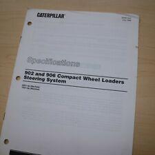 Caterpillar 902 906 Wheel Loader Steering System Specification Service Manual