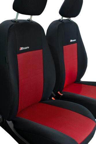 KRE-EXC Rot Maß Sitzbezüge Schonbezüge Autositzbezüge Dacia Dokker bis 2017