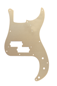 Genuine Fender 57/' 58/' Precision//P-Bass 10-Hole Vintage Pickguard GOLD ANODIZED