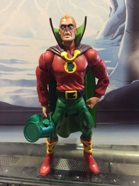 Green Lantern Classics Justice Society ALAN SCOT action figure