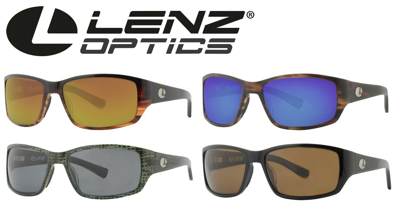 Lenz Optics Helmsdale Sunglass Edelstahlbügel   Acetatrahmen - Angelpolbrille
