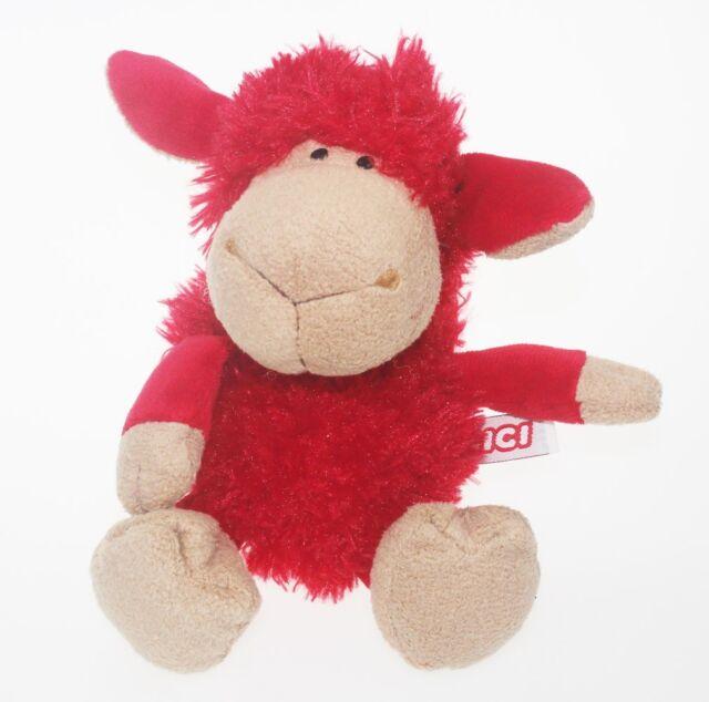 25 Cm Girl Red Sheep Stuffed Animals Soft Toy Baby Dolls Plush Toy