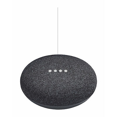 Brand New SEALED Google Home Mini Speaker Smart Personal Assistant  Charcoal