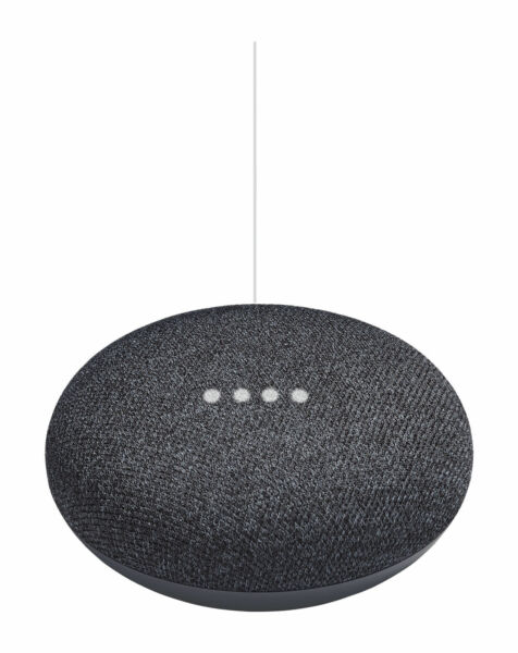 Google Home Mini Smart Assistant - Charcoal  | eBay